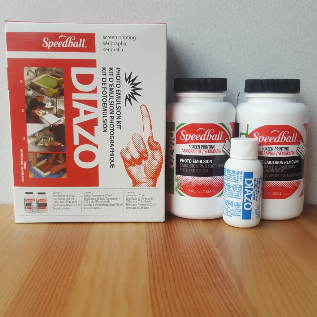 Speedball Art Products 4559 Diazo Photo Emulsion Kit Pack of 3