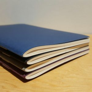 Fabriano 4 EcoQua Dark Blank Notebook Set