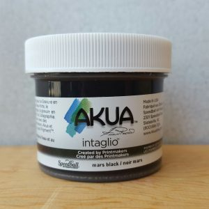 Akua Mars Black 2oz Water Based Intaglio Ink