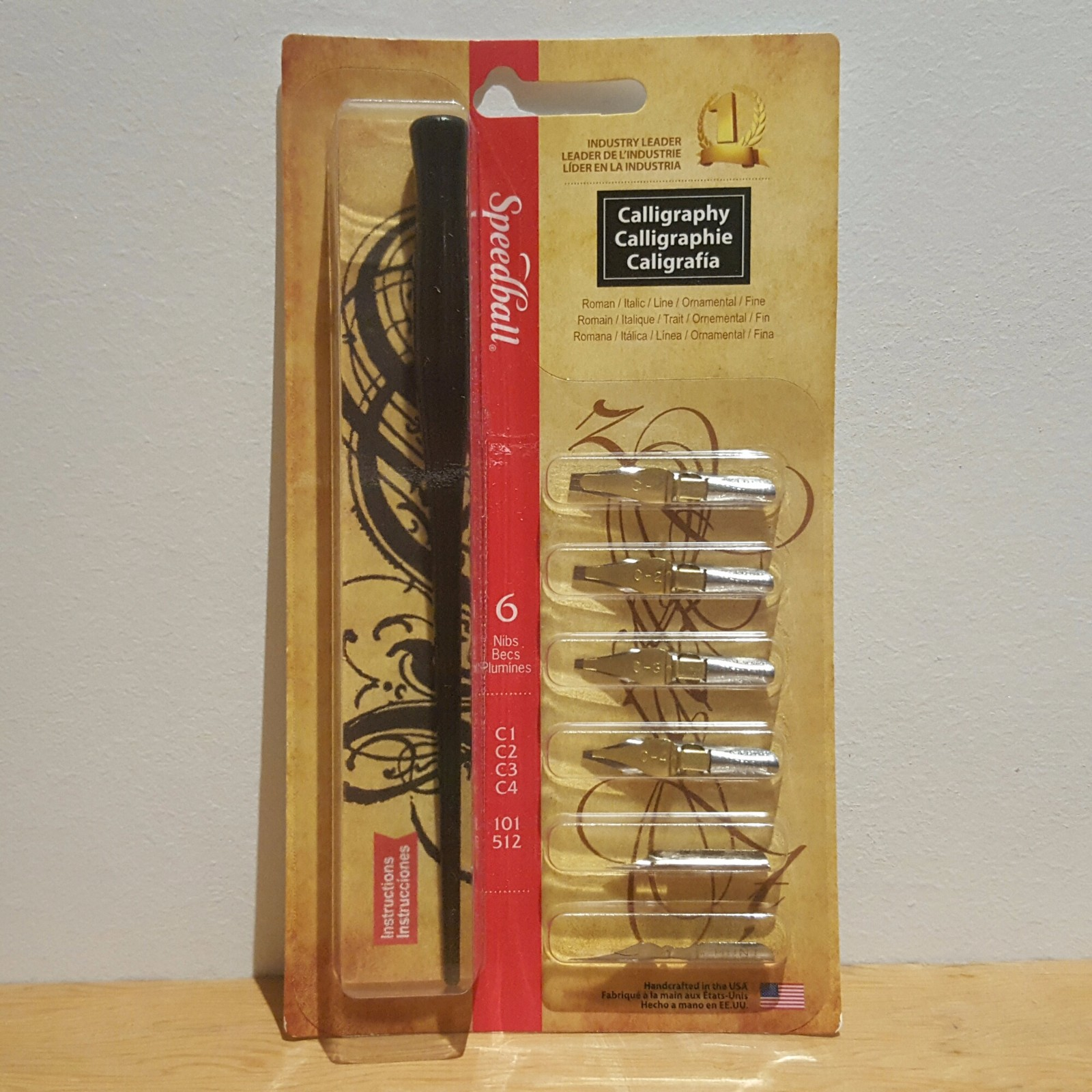 Speedball C Nib Calligraphy Pen Set Artdistro